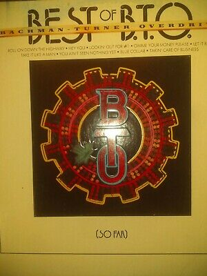 best of bto so far vinyl lp (Best Of Bto So Far)