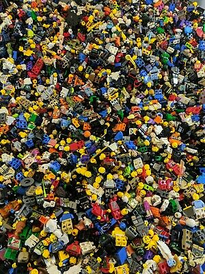 LEGO Minifigure Lot 10 Random Minifigs Per Order CITY TOWN NINJAGO CHIMA