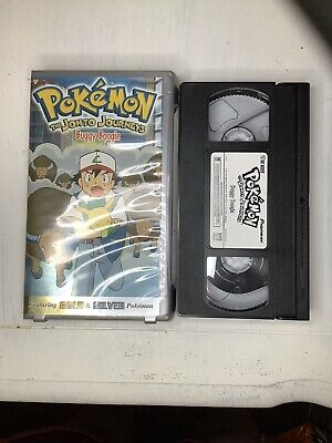 Pokemon: The Johto Journeys - Buggy Boogie (VHS, 2001, Dubbed) Lot