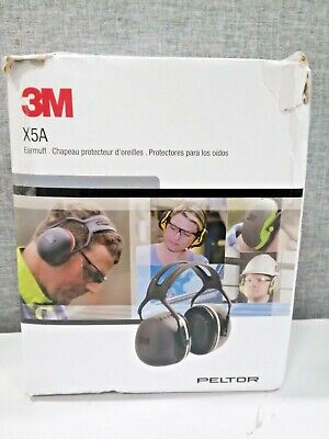 Peltor X5a Over-the-head Ear Muffs Noise Protection Nrr 31 Db Construction