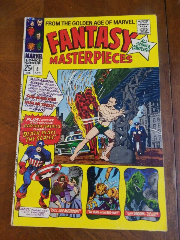 Fantasy Masterpieces Vol 1 #8 (1966) Free Ship at $30+