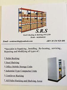 Scott's Racking & Shelving Pty Ltd Penrith Penrith Area Preview