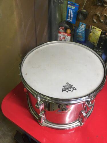 vintage ludwig stainless steel drum