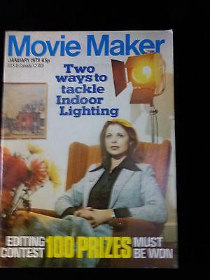 Movie Maker Magazine  January 1979  Like New