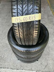 4x 195/60R15 CONTINENTAL Tyres with 98% Tread Virginia Brisbane North East Preview