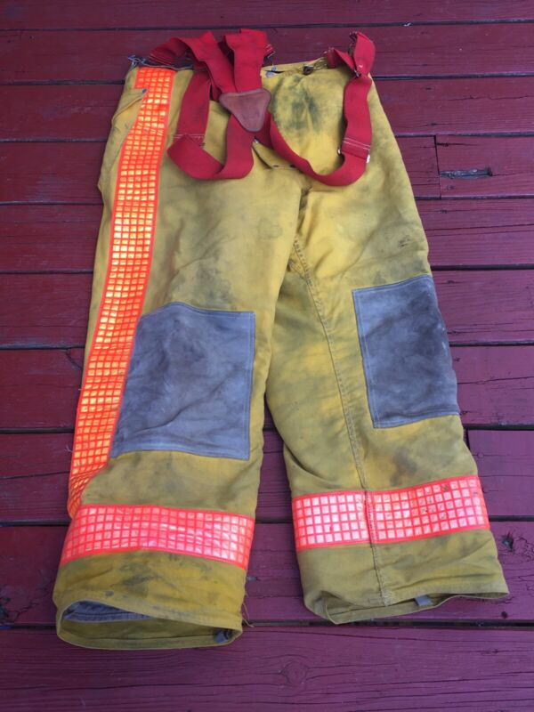 Flame Fighter FireFighter Turnout Pants w/ Suspenders Nomex