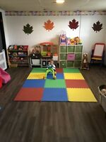 Daycare available children 2+ flexible hours