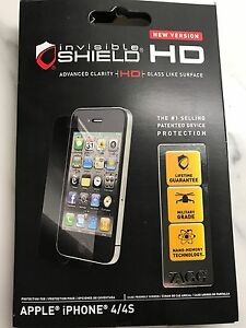 iPhone invisible shield