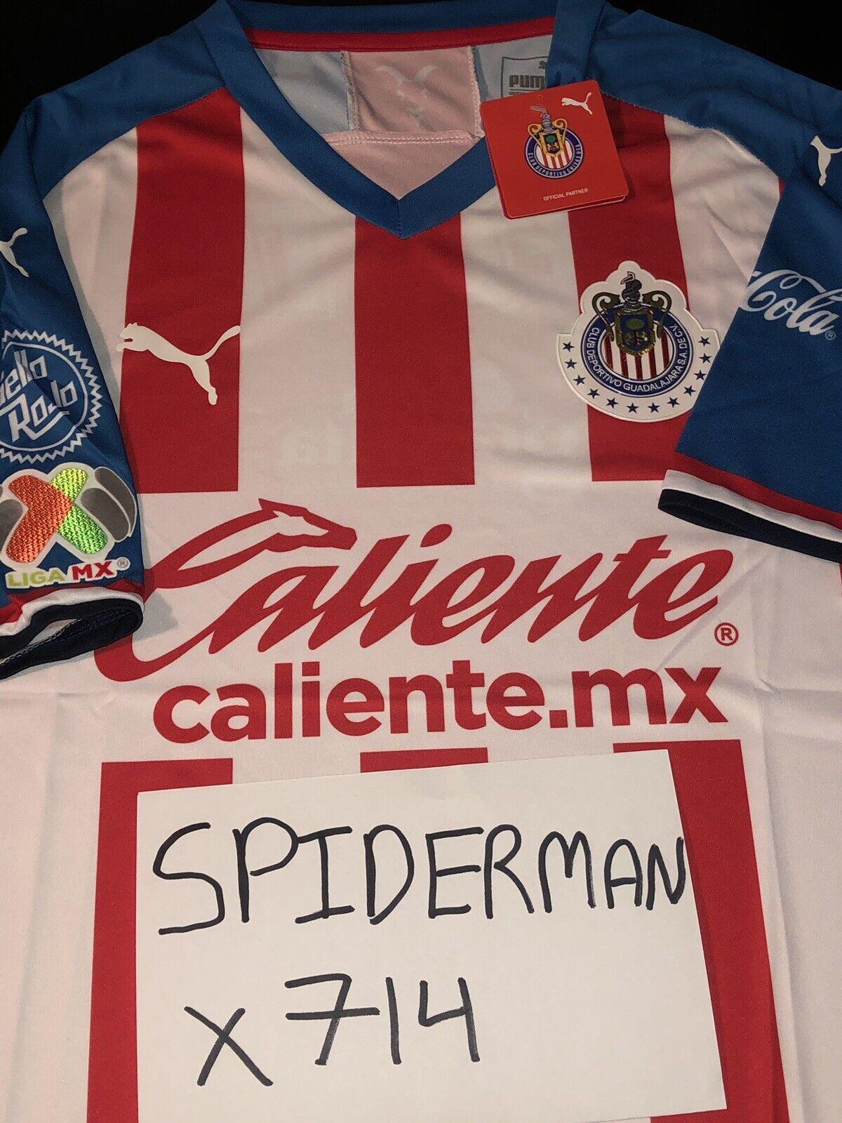 2ebe51a7e29e4 Chivas Puma Jersey 2019 Mexico America ...