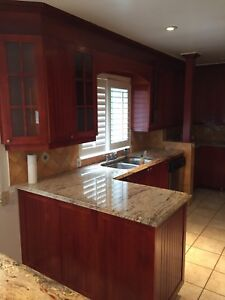 ***Vente rapide. Cuisine en bois/ full wood kitchen