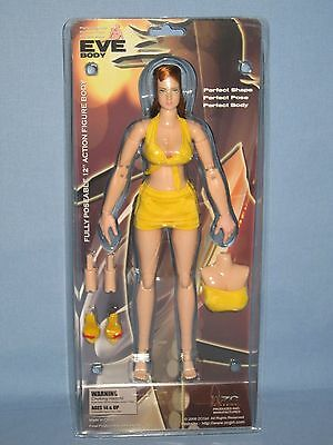 Zc Girl   Phicen 12 Inch Eve Body Yellow Outfit 1 6 Female Action Figure