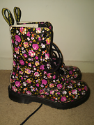 Doc Martens 10 Up Leather 'Simone' Boot Brighton Bayside Area Preview