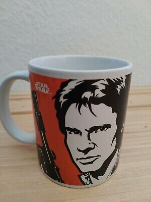 Star Wars Han Solo und Leia Tasse in Geschenkbox (NEU/OVP) ()