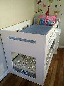Children's Bunk Bed - White Mullaloo Joondalup Area Preview