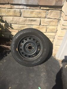 4 mint winter tires with rims