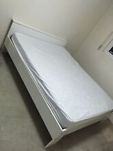 IKEA queen bed wood frame and mattress Sydney City Inner Sydney Preview