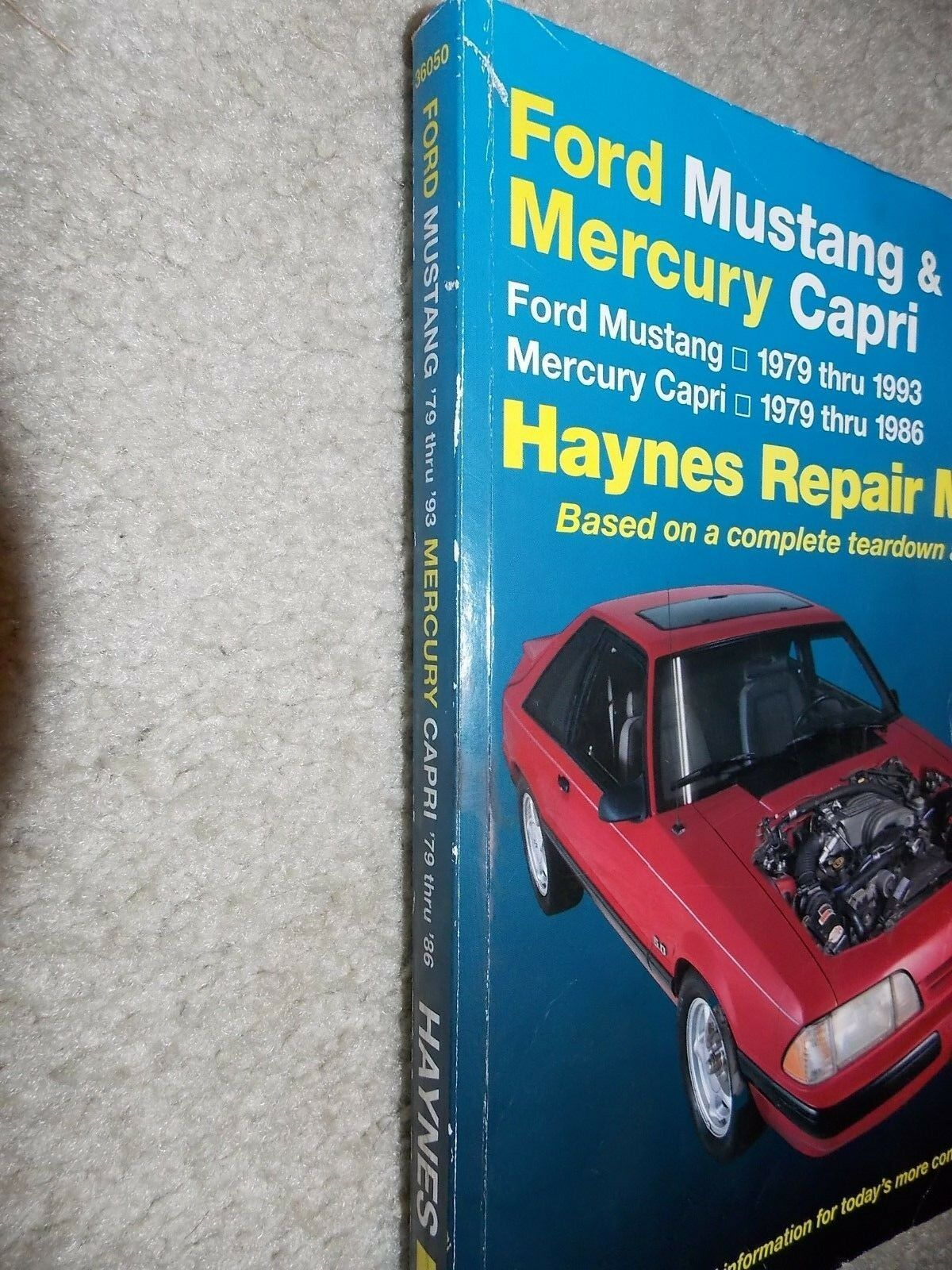 Used Mercury Auto Parts And Components For Sale Page 76 1993 Capri Fuse Box Haynes Ford Mustang 1979 Thru 1986