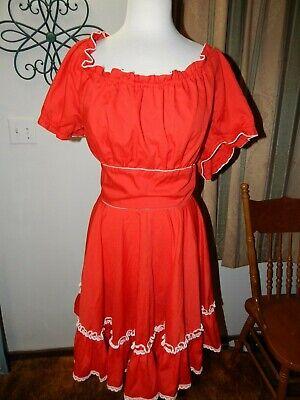 Vintage Home made Square Dance Dress - Square Dance Kostüm