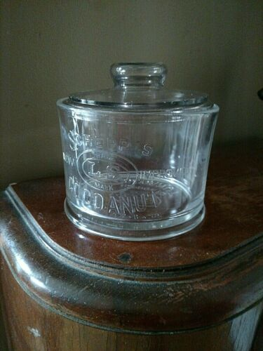 """VINTAGE Glass c.1930 """"SCHEPP"""