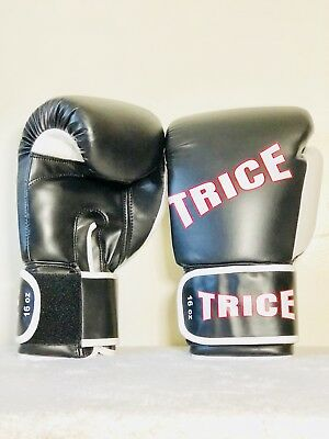 TRICE, New Special Thai Boxing MMA Kickboxing Gloves, Durable Synthetic - Mma Synthetic Leather