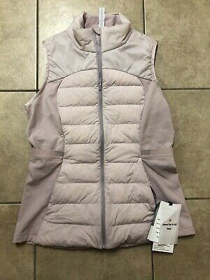 Lululemon Down For It All Primaloft Vest - LW4AQLS - Porcelain Pink - Size 10