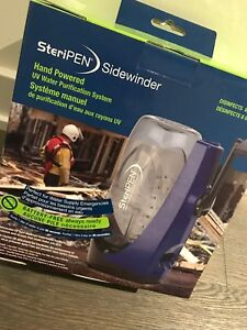 Steripen Sidewinder-Hand Powered Water Purification System