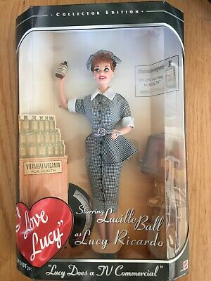 """I Love Lucy"" job switching Barbie Doll"