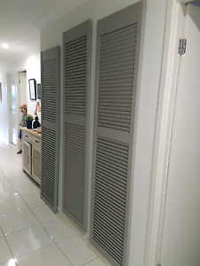 Beautiful Shabby Chic Shutters Pimpama Gold Coast North Preview