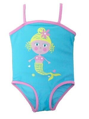 Baby Mädchen Badeanzug Süß Meerjungfrau Design 9-12m 12-18 Monate 18-24m 2-3y
