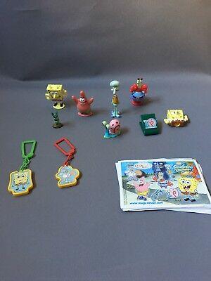 B SCHWAMMKOPF 2005 Ü-Ei gary Zubehör Sammler Paket (Spongebob Zubehör)