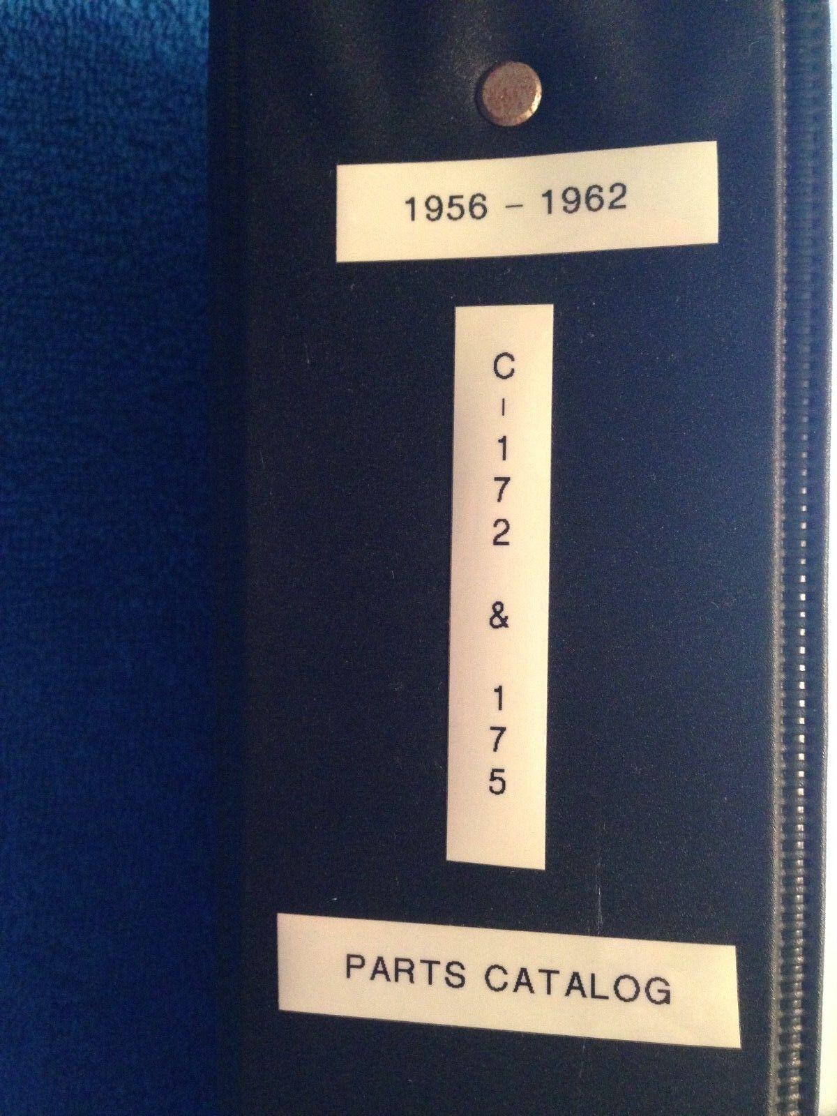 Cessna 172 & 175  1956-1962 Parts Manual