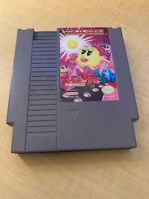 Ms. Pac-Man Namco Version Nintendo Nes Cleaned & Tested Authentic