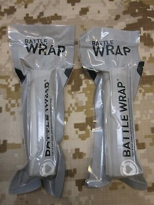 Lot Of 2 Pack Battle Wrap Translucent Medic Tape Transparent Clear See Through