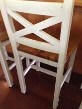 3 white country breakfast stools Richmond Hawkesbury Area Preview