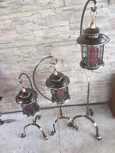 Lanternes avec support