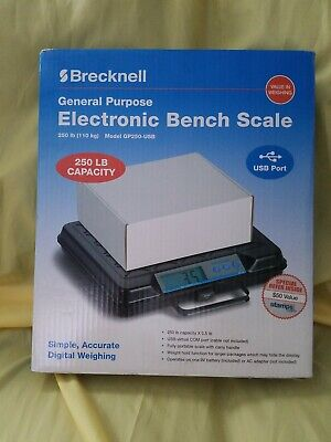 Brecknell General Purpose Electronic Bench Scale Model Gp250-usb
