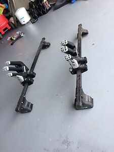 Mk3 vw golf/ Jetta Thule cross bars roof rack
