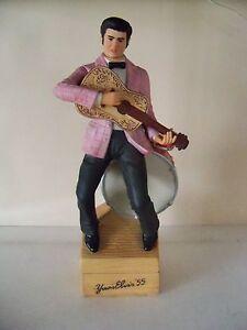 Vintage Mccormick 1979 Elvis Presley Wishkey Decanter