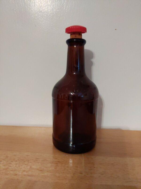 """Drambuie Vintage Dark Amber Glass Liqueur Bottle Scotland 7.5"""""""