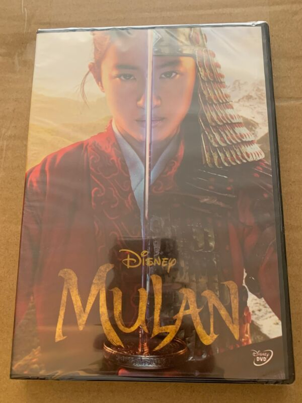 NEWEST Movie 2020 Mulan (1-Disc DVD) Live Action - Brand New & Sealed