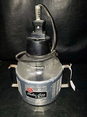 Vintage Medical Poloron Vapor Compressor 504 Steam Antique Equipment Glass Rare