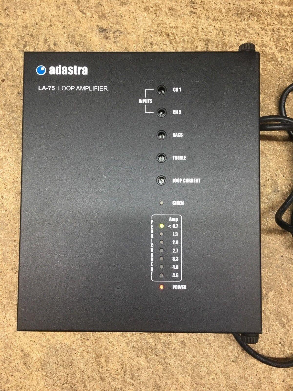 ADASTRA 952.859 LA75 INDUCTION LOOP AMPLIFIER - FAULTY