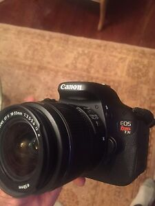 Canon T3i / 18-55mm (price is negotiable)
