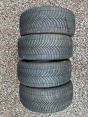 Part Worn Tyre 4x 225/40/18 All Season Michelin Cross Climate 92Y EL M+S