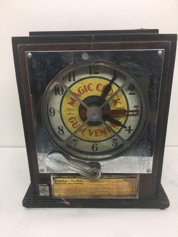 Magic Clock ORIGINAL Antique Trade Stimulator