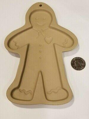 Brown Bag Cookie Art 1992 Hill Design, Inc Classic Gingerbread Man Vintage Rtrd