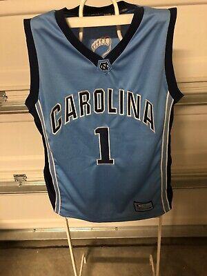 Colosseum North Carolina Tar Heel Blue Basketball Jersey Size XL # 1 (Tar Heel Blue)