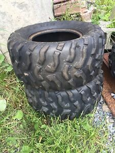 4 Used atv tires for sale