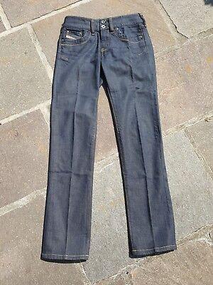 Diesel RONHAR Damen Booty Jeans Hose, W 26 /L 30, dark Indigo Denim