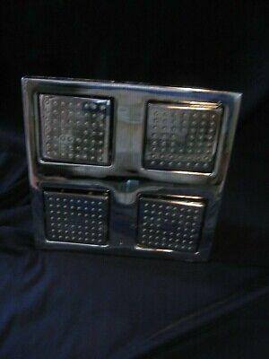 Kohler WaterTile K-8030-BV Vibrant Brushed Bronze 54-Nozzle Shower Head Panel Brushed Bronze Watertile Showerhead